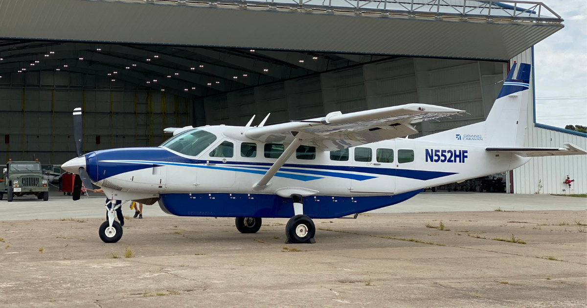pacific air holdings Cessna leasing caravan